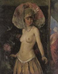 Лев Бакст Танцовщица в костюме