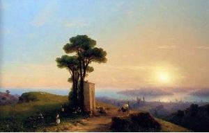 Иван Айвазовский Вид Константинополя 1852