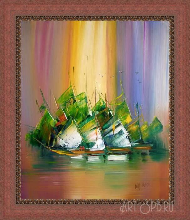Пример оформления картины в багет