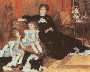 Ренуар  портрет Мадам Шарпантье с дочерьми (1878)