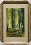Ручей в лесу. Иван Шишкин