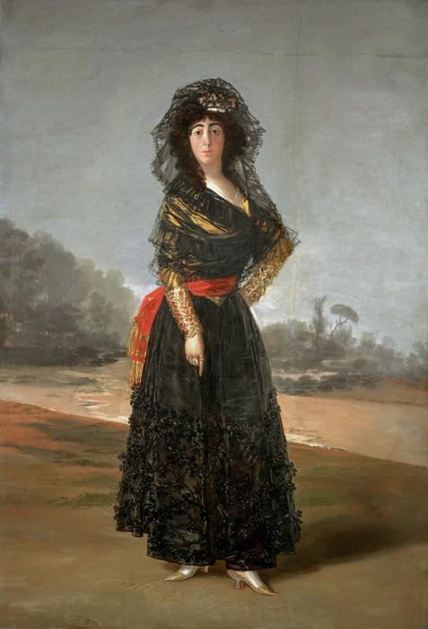 Портрет герцогини Альба. Франсиско де Гойя