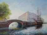 Верхний Лебяжий мост. Бригантина