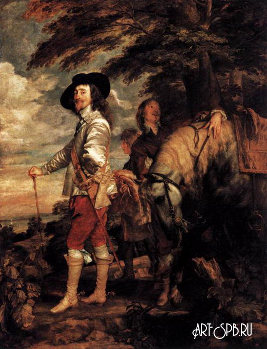 Ван Дэйк Чарльз I: король Англии на охоте