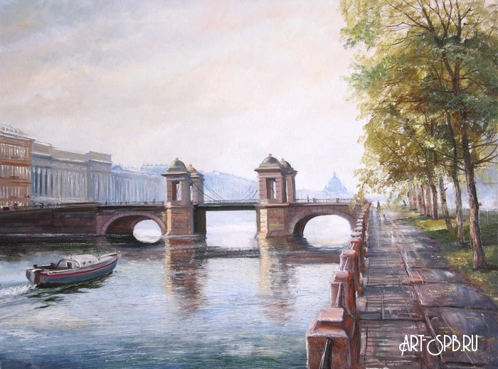 картины по номерам банковский мост