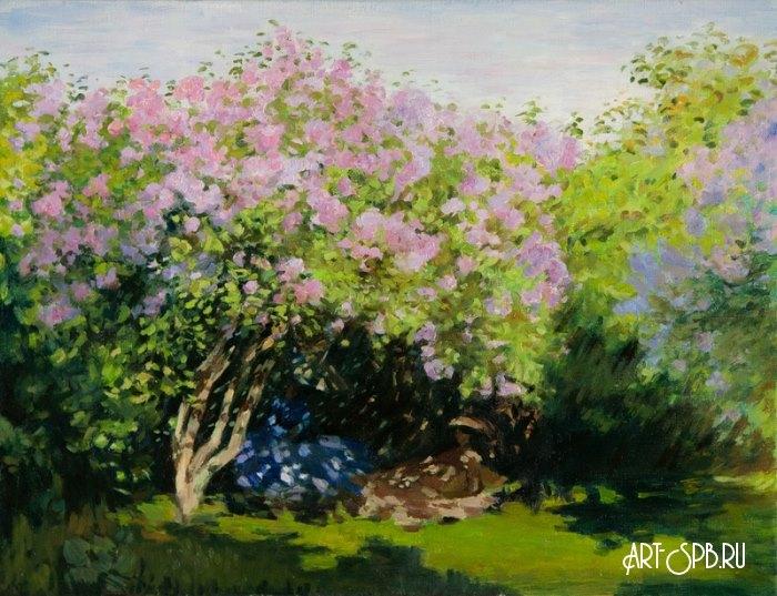 Картинки по запросу Клод Моне «Сирень на солнце»