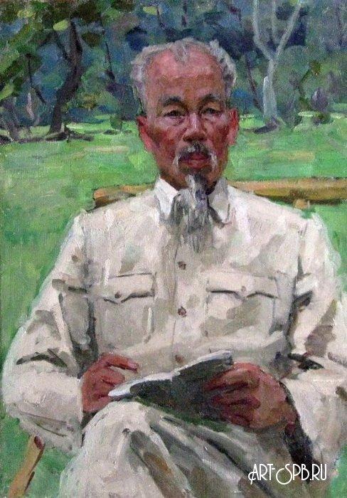 Портрет Хо Ши Мина